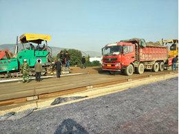 九绵高速公路使用双向塑料土工格栅增强基础路基