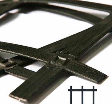 凸节点钢塑格栅图2